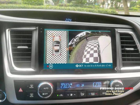 Camera 360 DCT ô tô cao cấp
