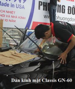 Dán phim kính mặt Classis GN50/60 cực mát