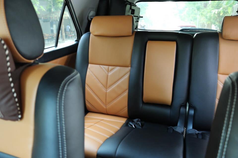 Các mẫu bọc ghế da thông dụng cho xe ô tô