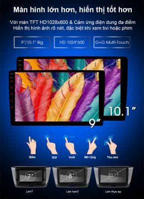 cac dong man hinh c500 phuongdongauto com 291x400 DVD Android theo xe HONDA CITY – Trải nghiệm DVD C500+