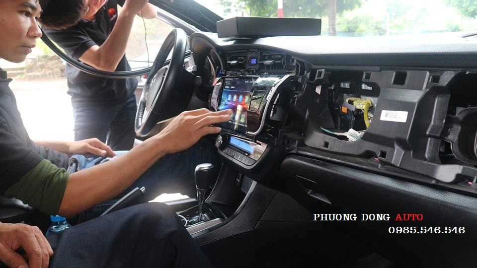 DVD Android theo xe HONDA CITY – Trải nghiệm DVD C500+