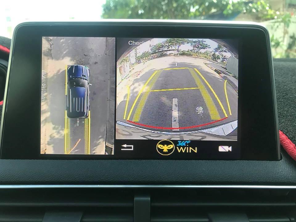 Camera 360 cho xe PEUGEOT 5008 + Inteface Chính Hãng