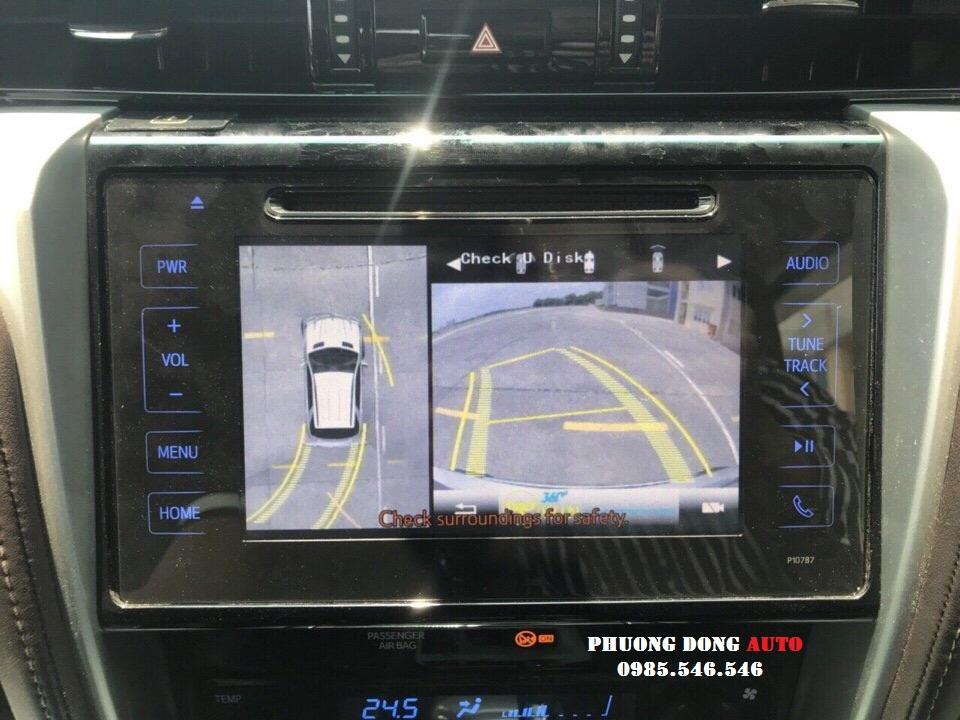 Toàn cảnh Camera 360 OVIEW Pro cho FORTUNER 2018