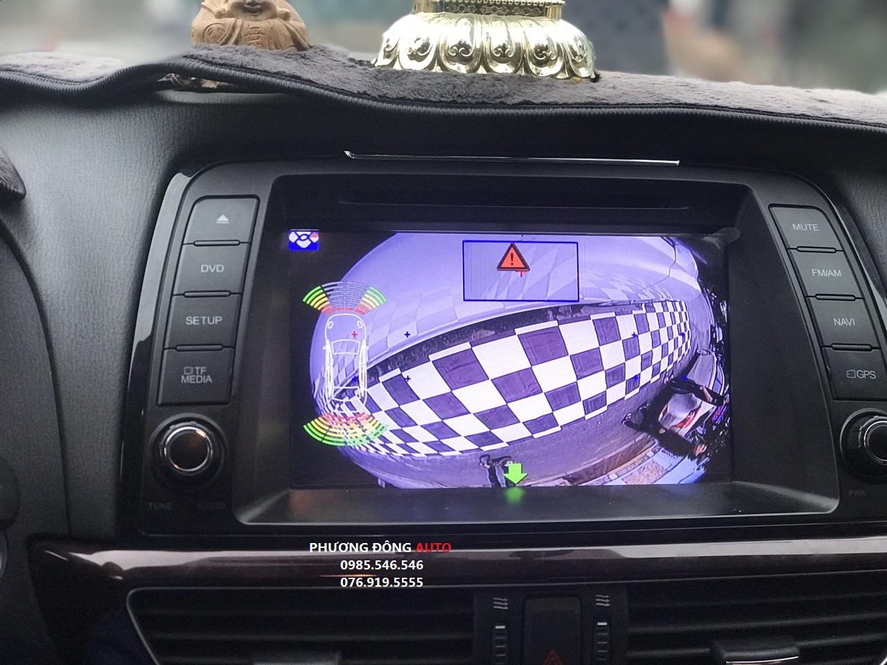 Camera 360 DCT cho xe MAZDA 6 2015 | Camera 360 DCT bản T1