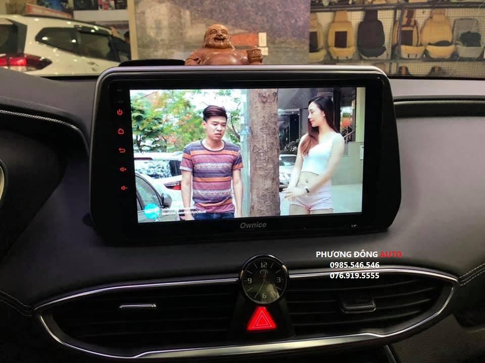 DVD Android C500+ theo xe SANTAFE 2019 | Android Chính Hãng