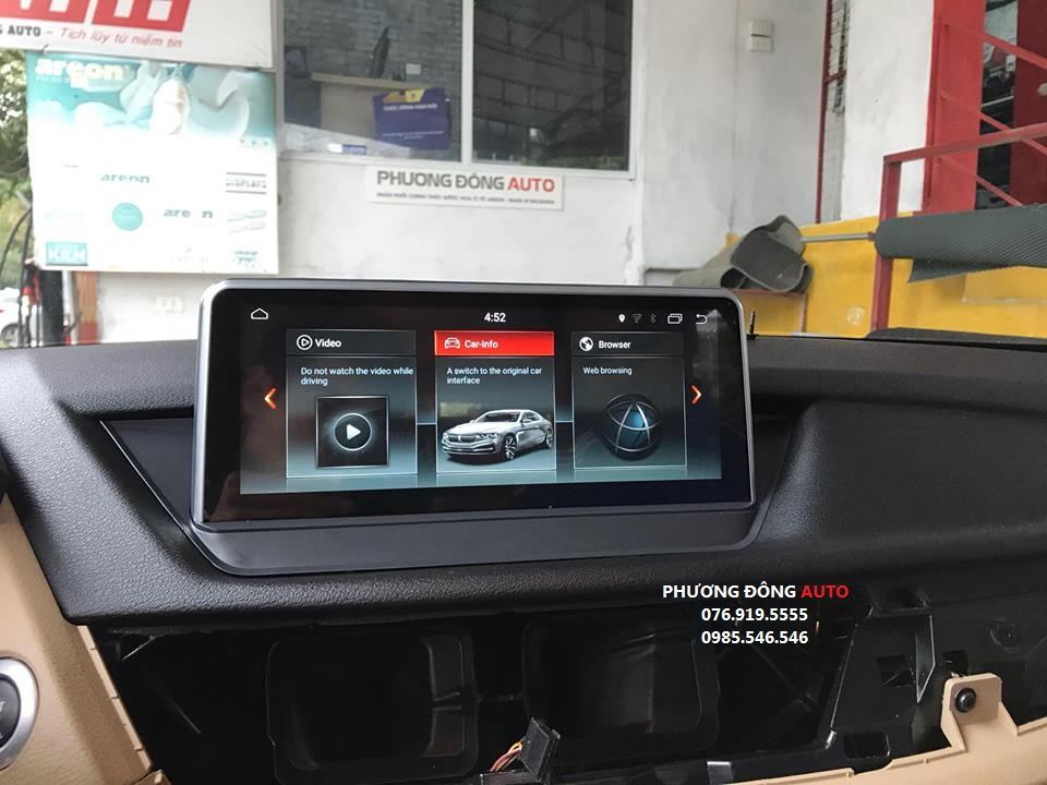 DVD Android theo xe Audi A4 cao cấp