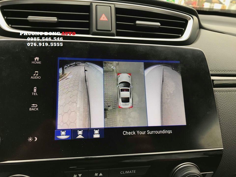 Camera 360 DCT lắp cho HONDA CRV 2019 | Bản T3