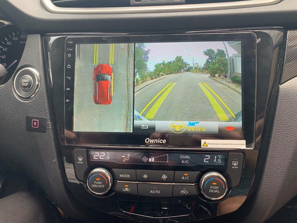 Lắp Camera 360 OWin Pro Nissan XTRAIL 2018