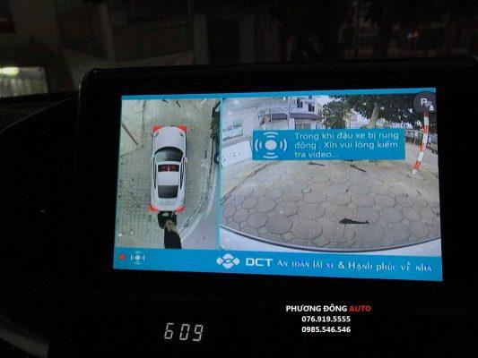 lắp camera 360 dct landcruiser 2020