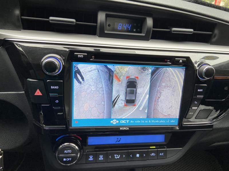 Camera 360 DCT cho Toyota Altis