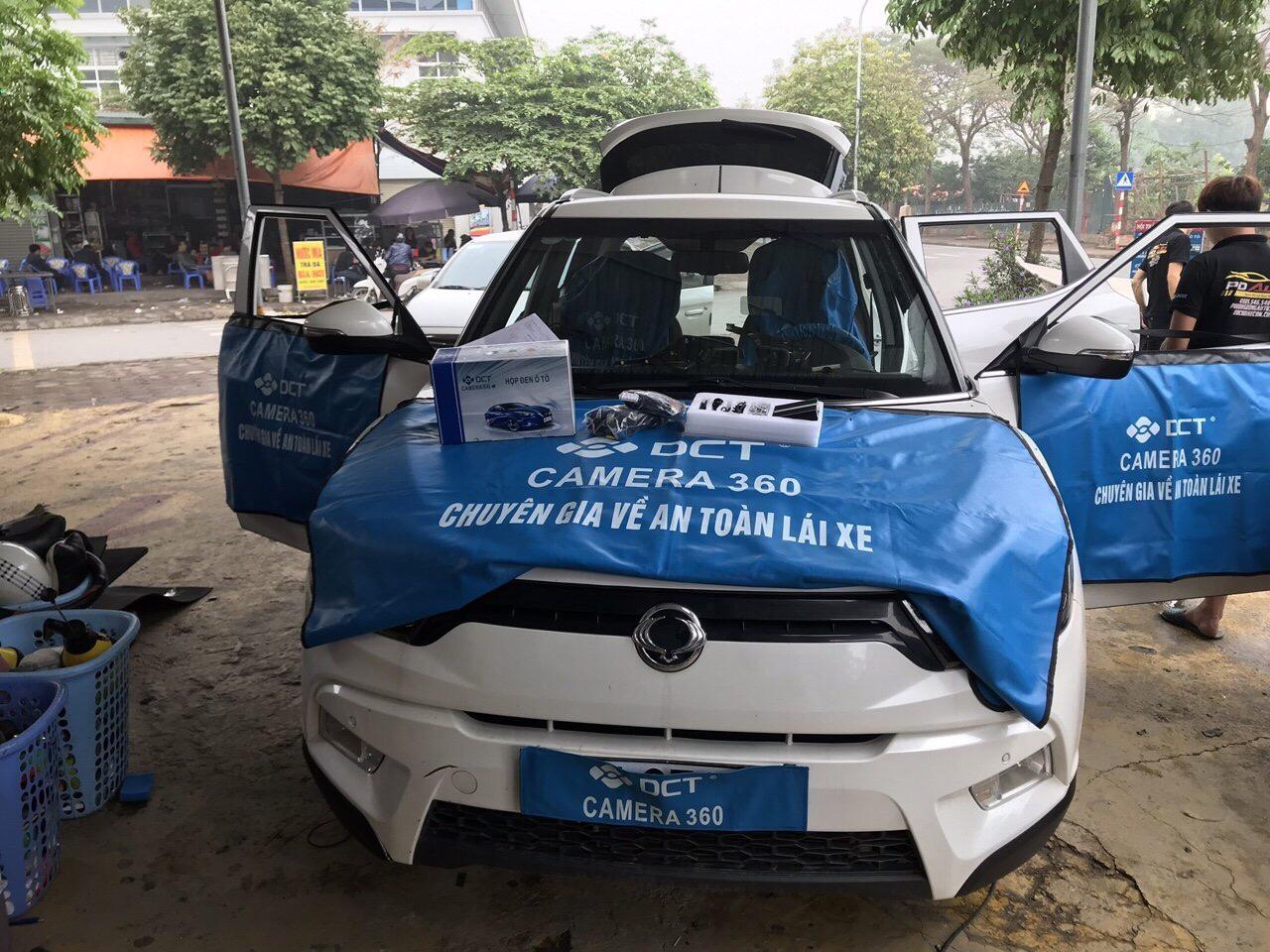 Camera 360 DCT cho xe Ssangyong Tivoli 2018 | 100% Chính Hãng