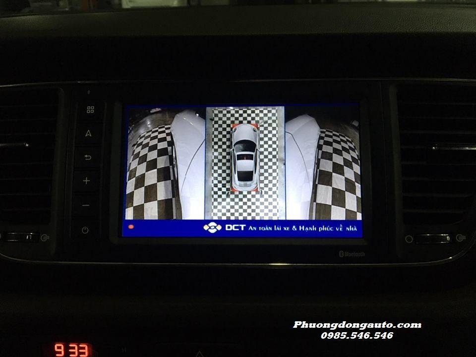 Camera 360 DCT lắp cho Kia SEDONA | 100% Chính Hãng
