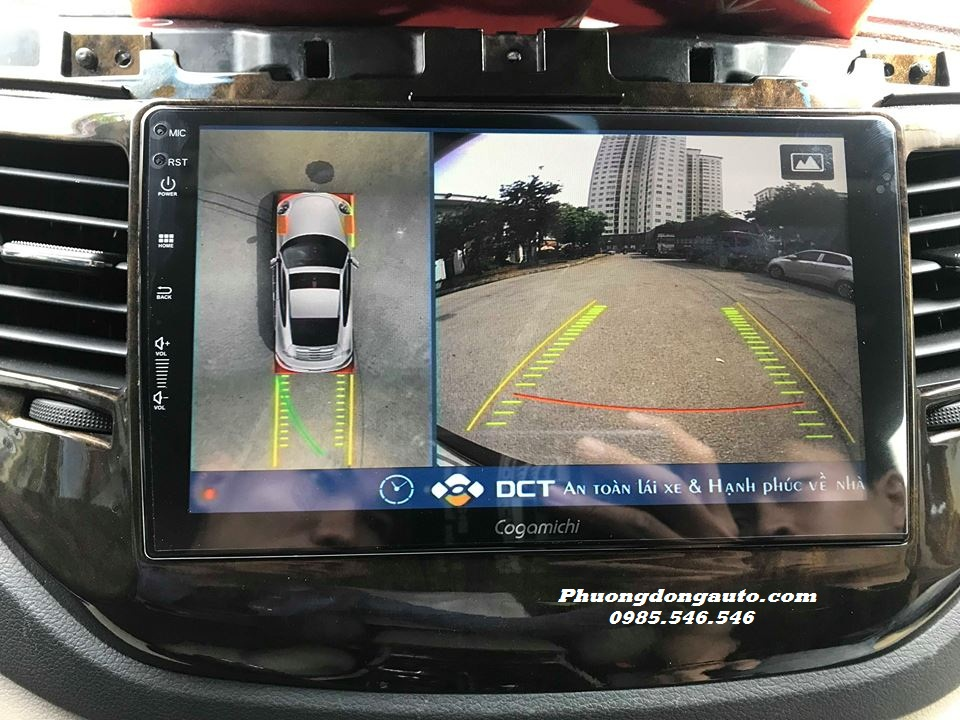 Camera 360 DCT cho xe Hyundai TUCSON 2017 | 100% Chính Hãng