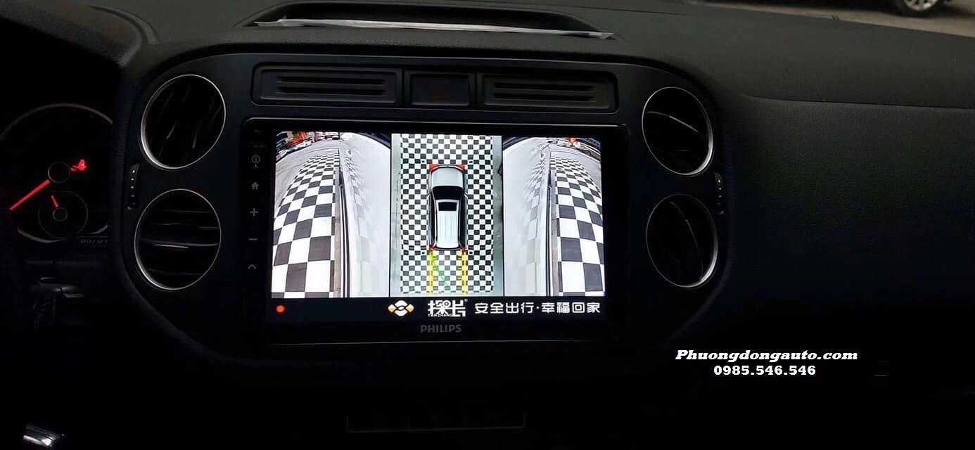 Camera 360 DCT cho Volkswagen Passat | 100% Chính Hãng