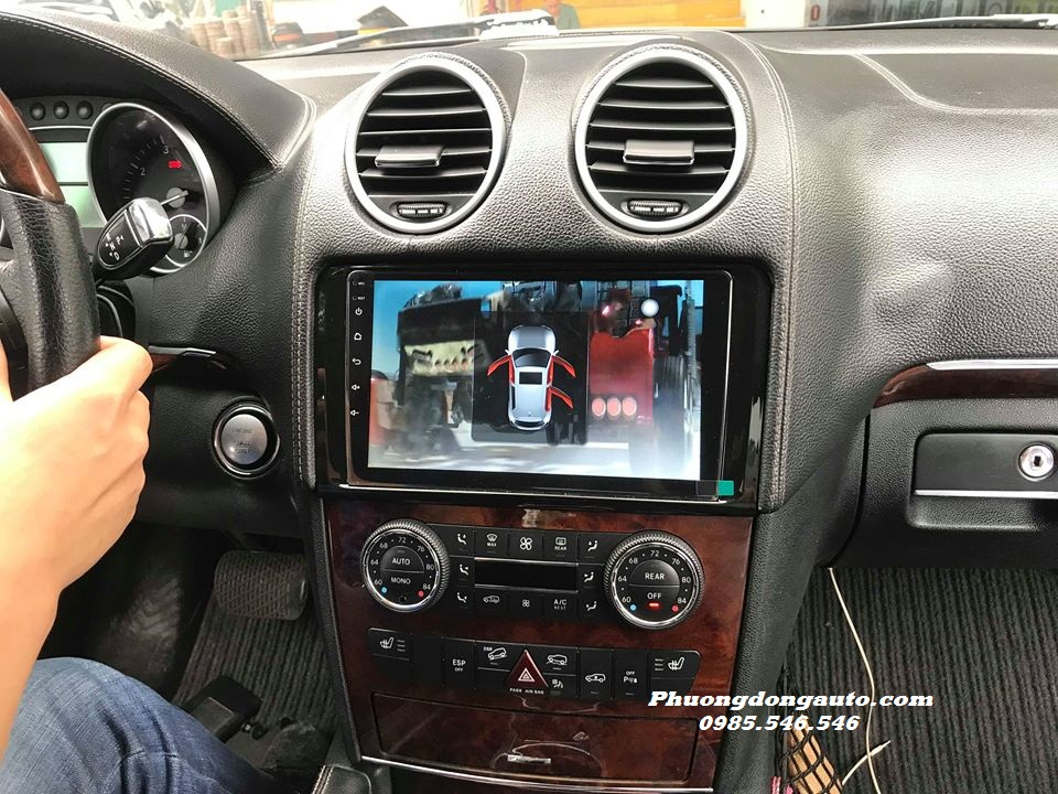 DVD Android theo xe Mercedes GL 450 | 100% theo xe