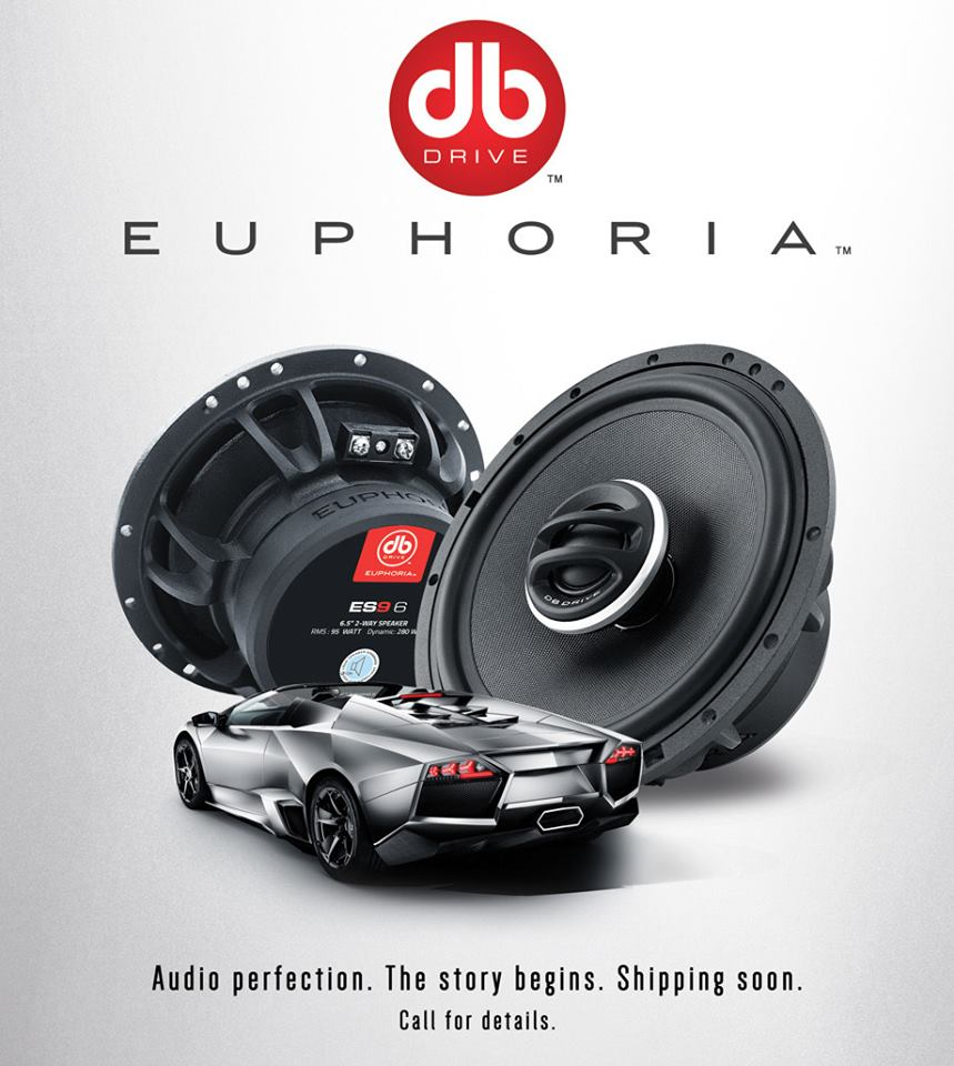 Loa toàn dải cho xe ô tô Euphoria ES3 DB Drive