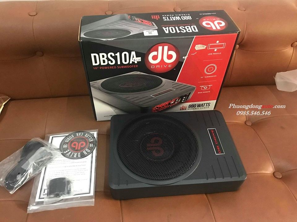 Loa sub gầm DB Driver DBS 10A chuyên gia âm thanh