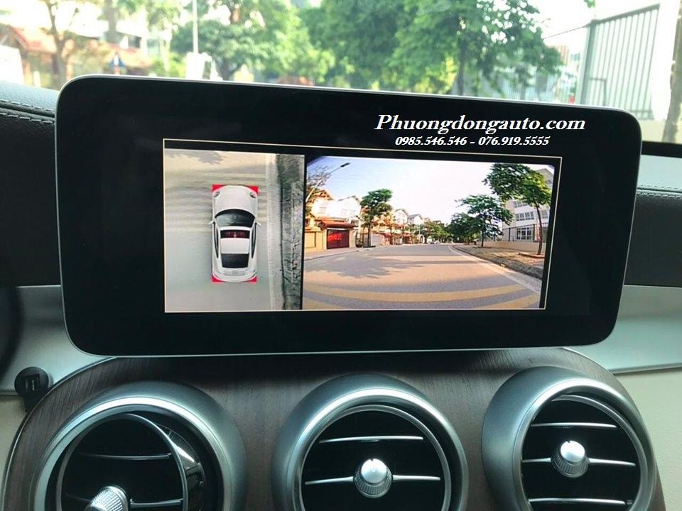 Lắp Camera 360 DCT cho Mercedes C300