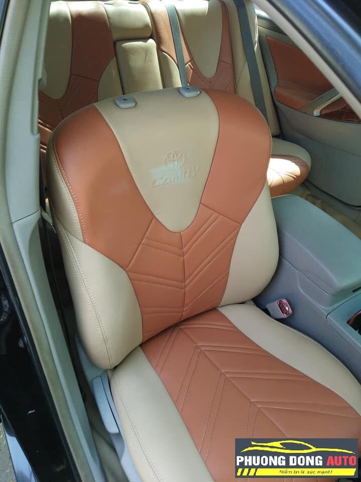 Mẫu bọc ghế da Toyota mới nhất | Da không mùi