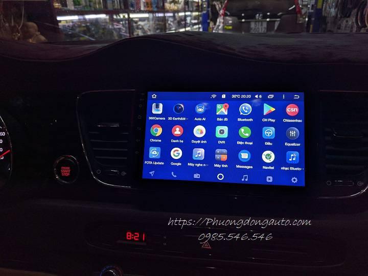 DVD Android Teyes CC2 Pro cho Kia Sedona (4+64G)