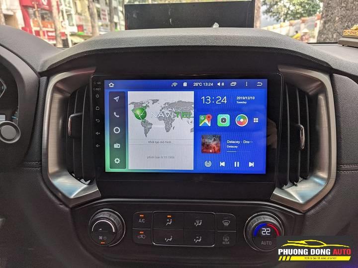 DVD Android TEYES CC2 cho COLORADO | Công nghệ đẳng cấp