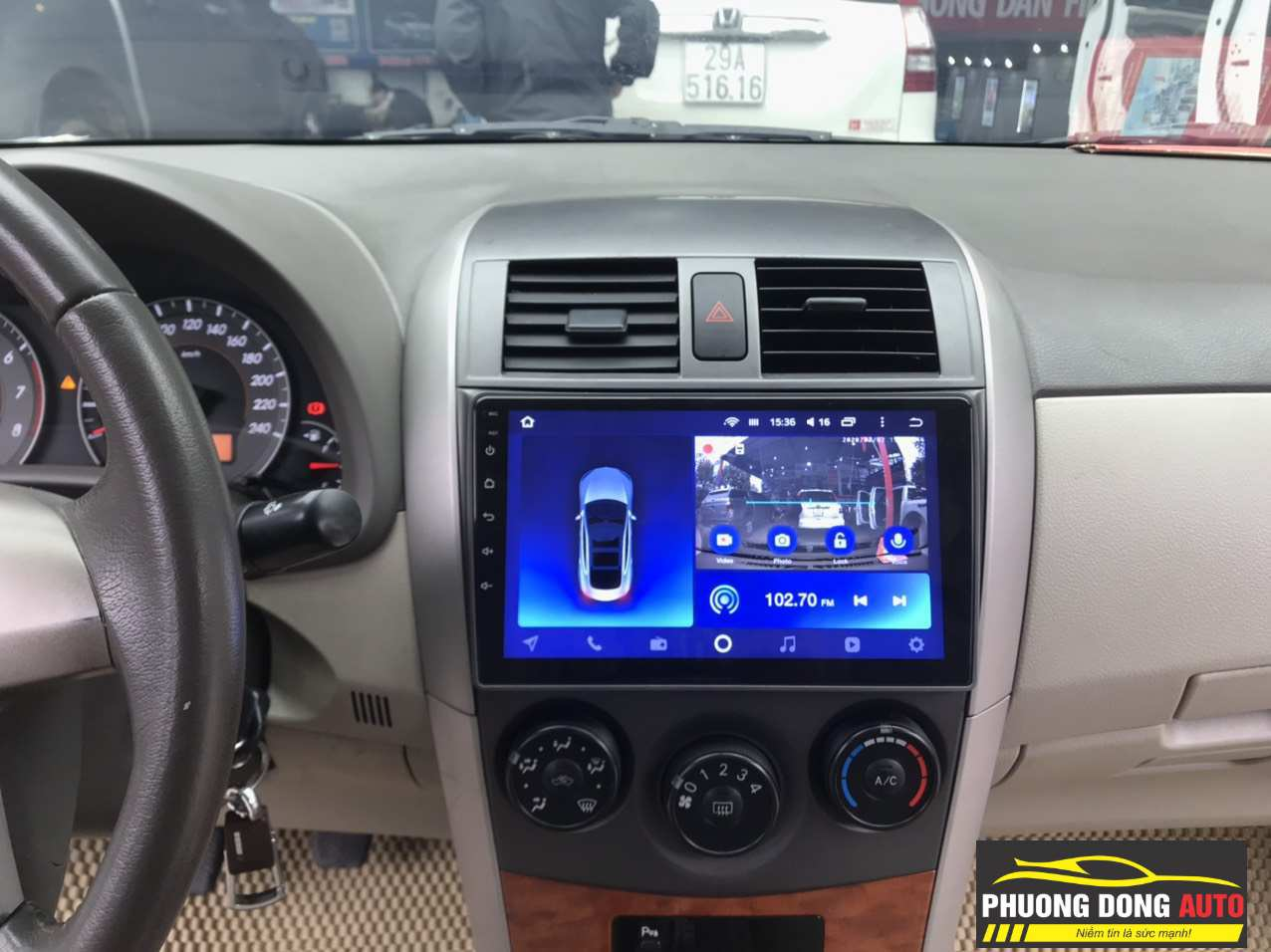 Android Teyes CC2 Camry 2009