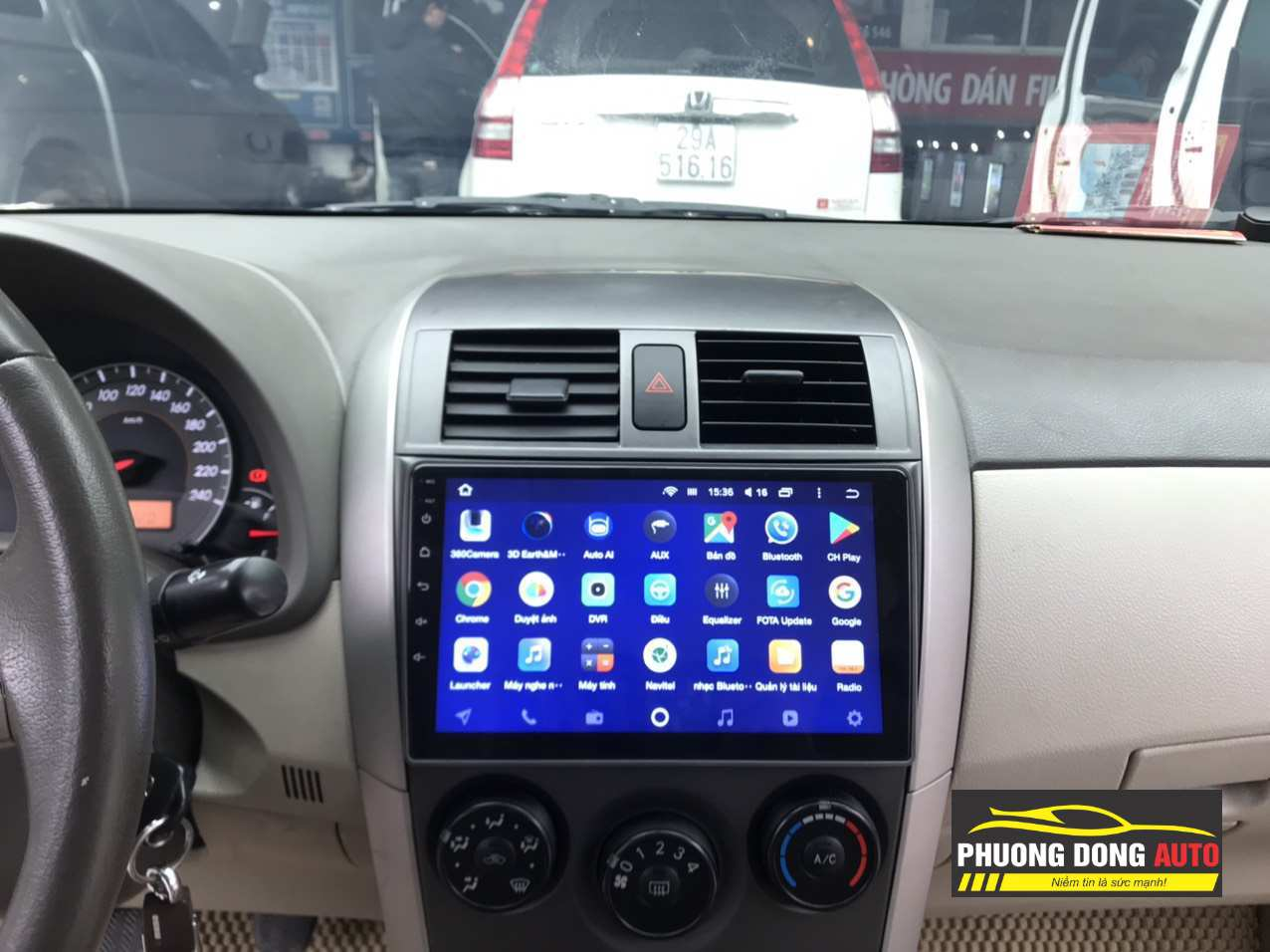 Android Teyes CC2 cho Camry 2009