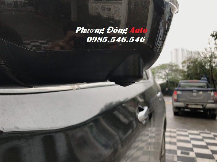 Đổi Camera 360 DCT cho Nissan Xtrail 2019 | Thay Camera nguyên bản