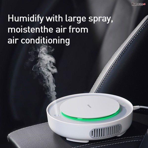 Máy khử mùi xe trên ô tô | Phát tán không khí