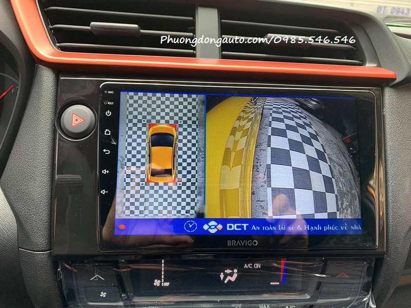 Camera 360 ô tô Honda Brio