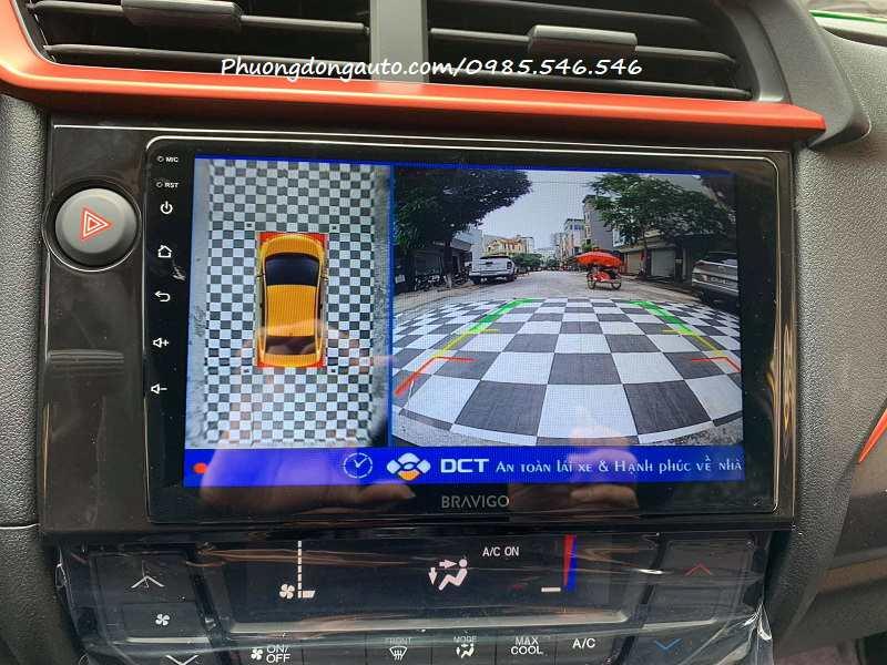 Camera 360 dct ô tô Honda Brio
