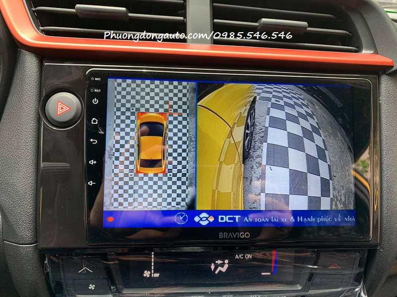 Camera 360 ô tô Honda Brio tốt nhất