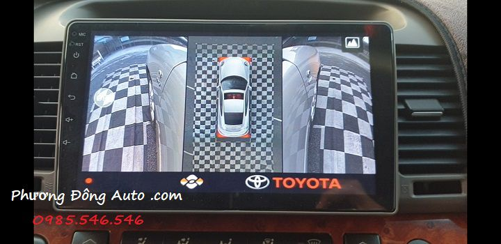 Camera 360 Toyota Camry