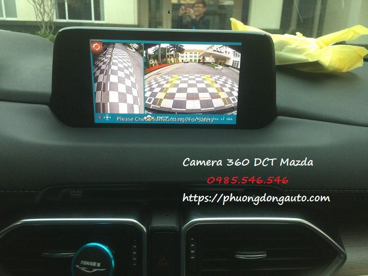 Chuyên Camera 360 dct Mazda CX8