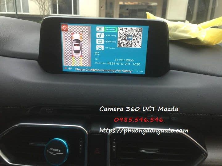Camera 360 dct Mazda CX8