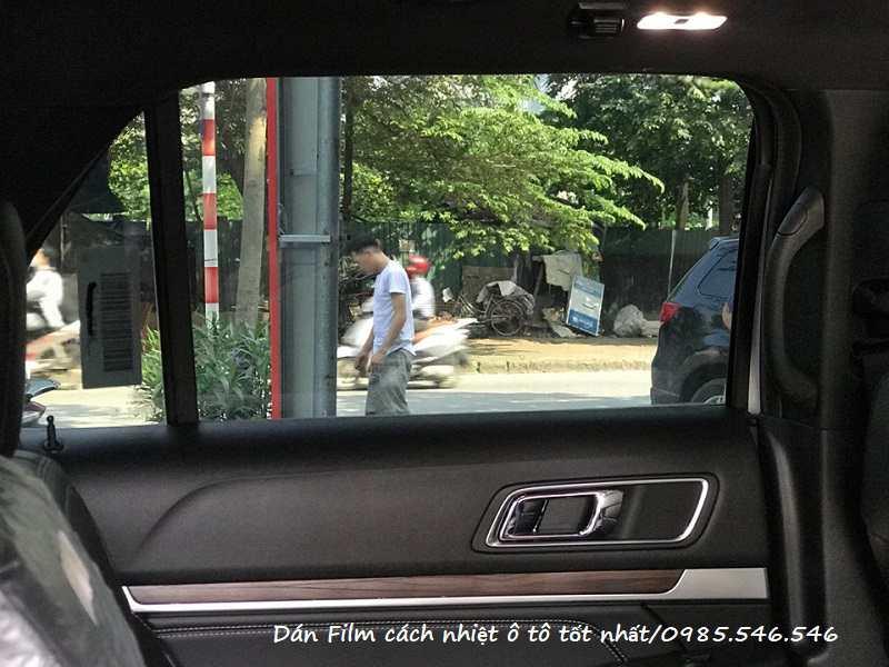Dán Film cách nhiệt Ford Explorer 2020