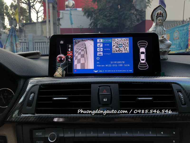 Camera 360 DCT BMW 525i | Tăng tính năng an toàn BMW
