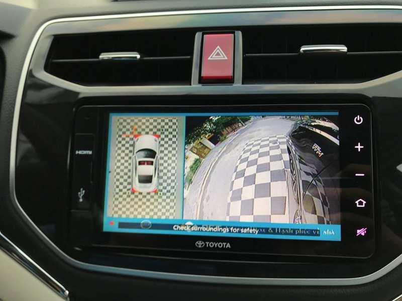 Camera 360 Toyota Rush