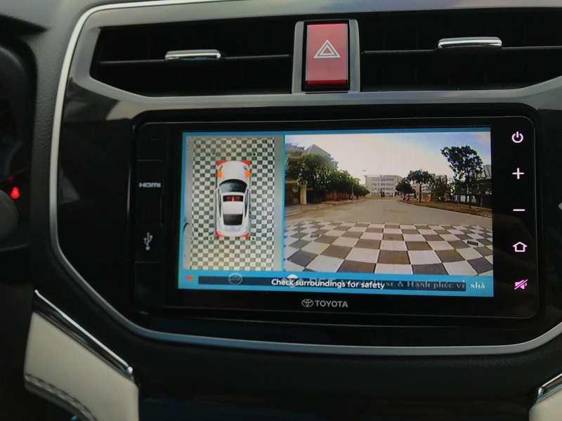 Camera 360 Toyota Rush 2021