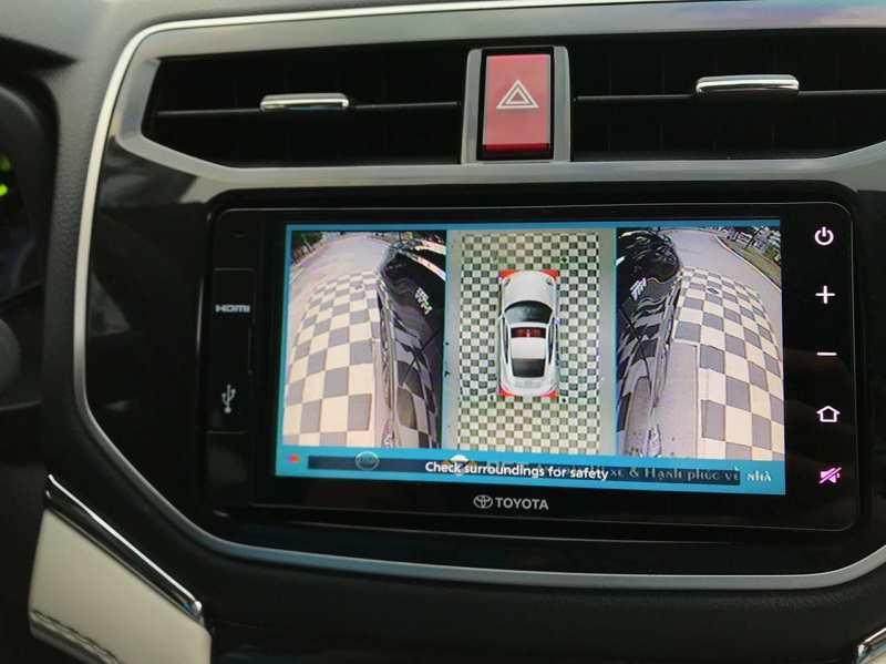 Camera 360 Toyota Rush cao cấp