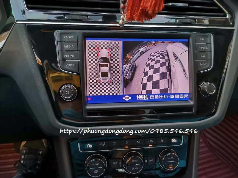 Camera 360 Volkswagen Touareg cao cấp