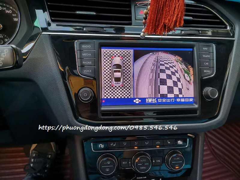 Camera 360 Volkswagen Touareg 2020