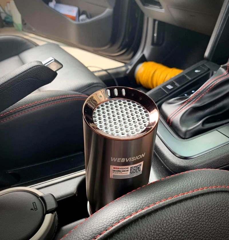 Máy khử mùi ô tô | Máy khử mùi xe Webvision A8