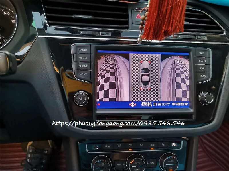 Camera 360 Volkswagen Touareg tốt nhất