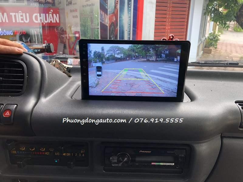 màn hình android xe tải