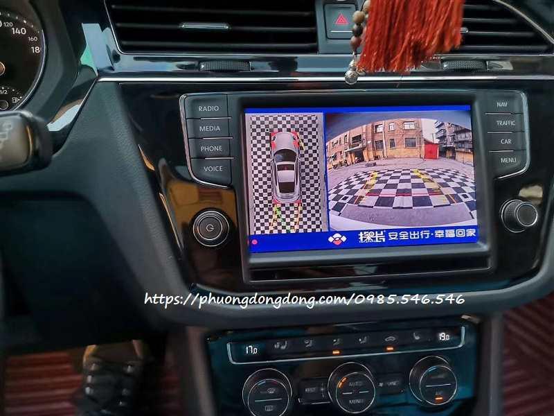Camera 360 Volkswagen Touareg