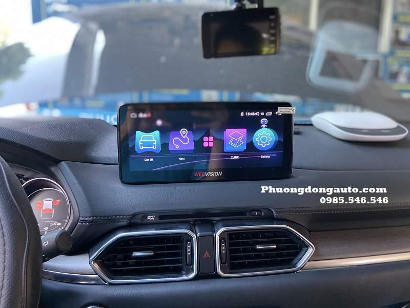 Màn Webvision Android Mazda CX5 2019