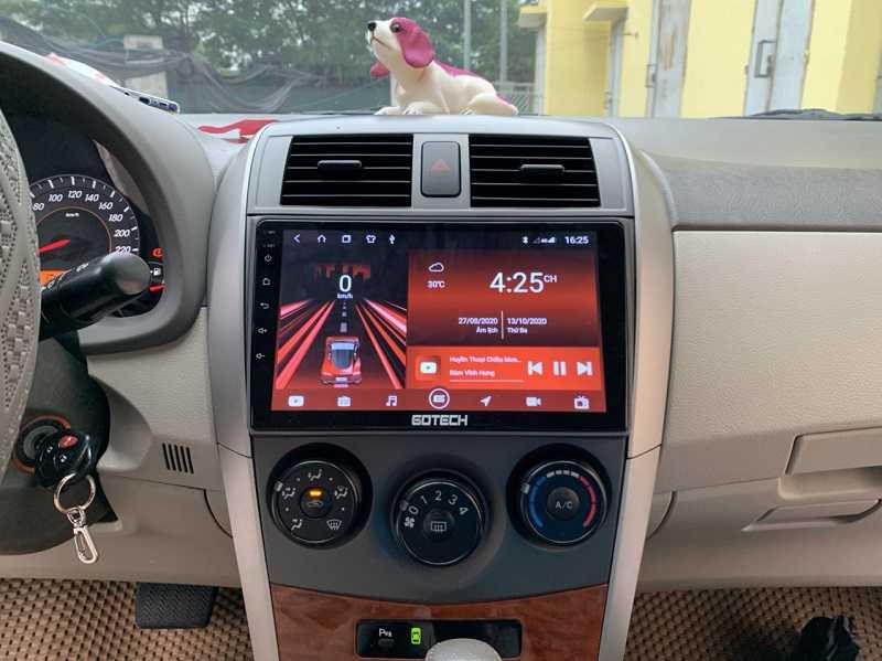 Màn hình Android Toyota Altis 2009 | Báo giá lắp đặt