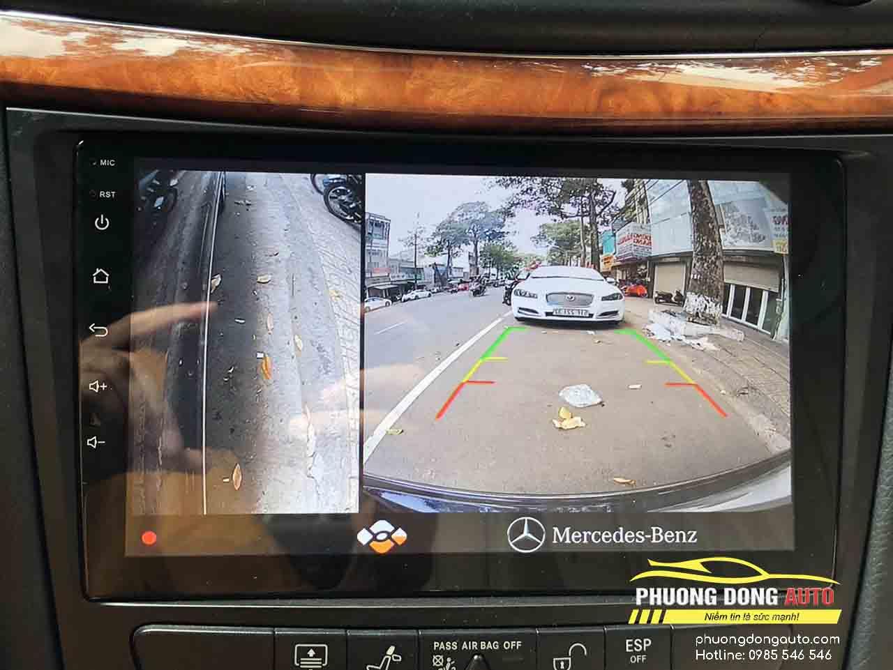 Cam 360 cho mercedes