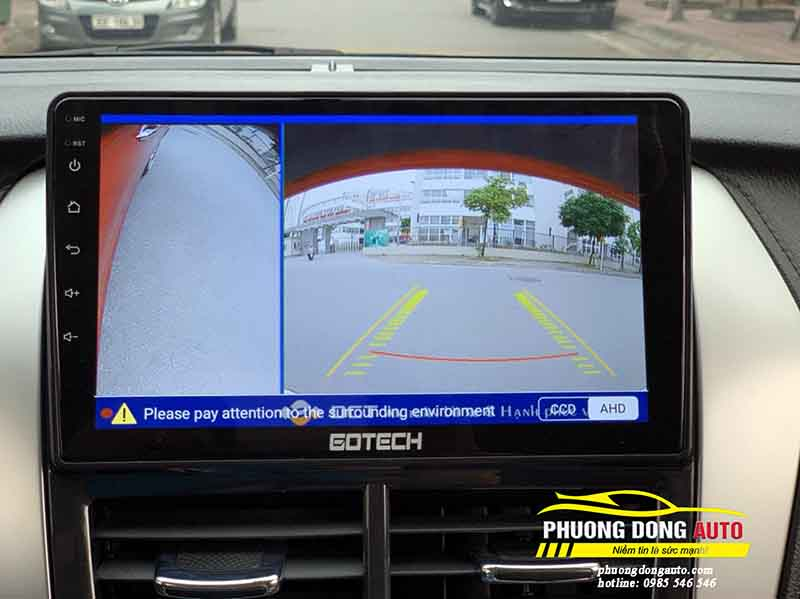 màn hình androi cho Toyota vios